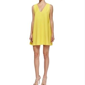 Alice and Olivia Amber Yellow Dress